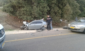 Car accident Israel
